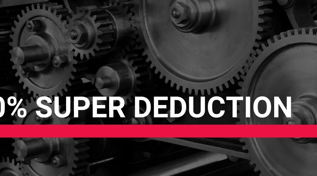 Super Deduction Scheme To Benefit Manufacturers